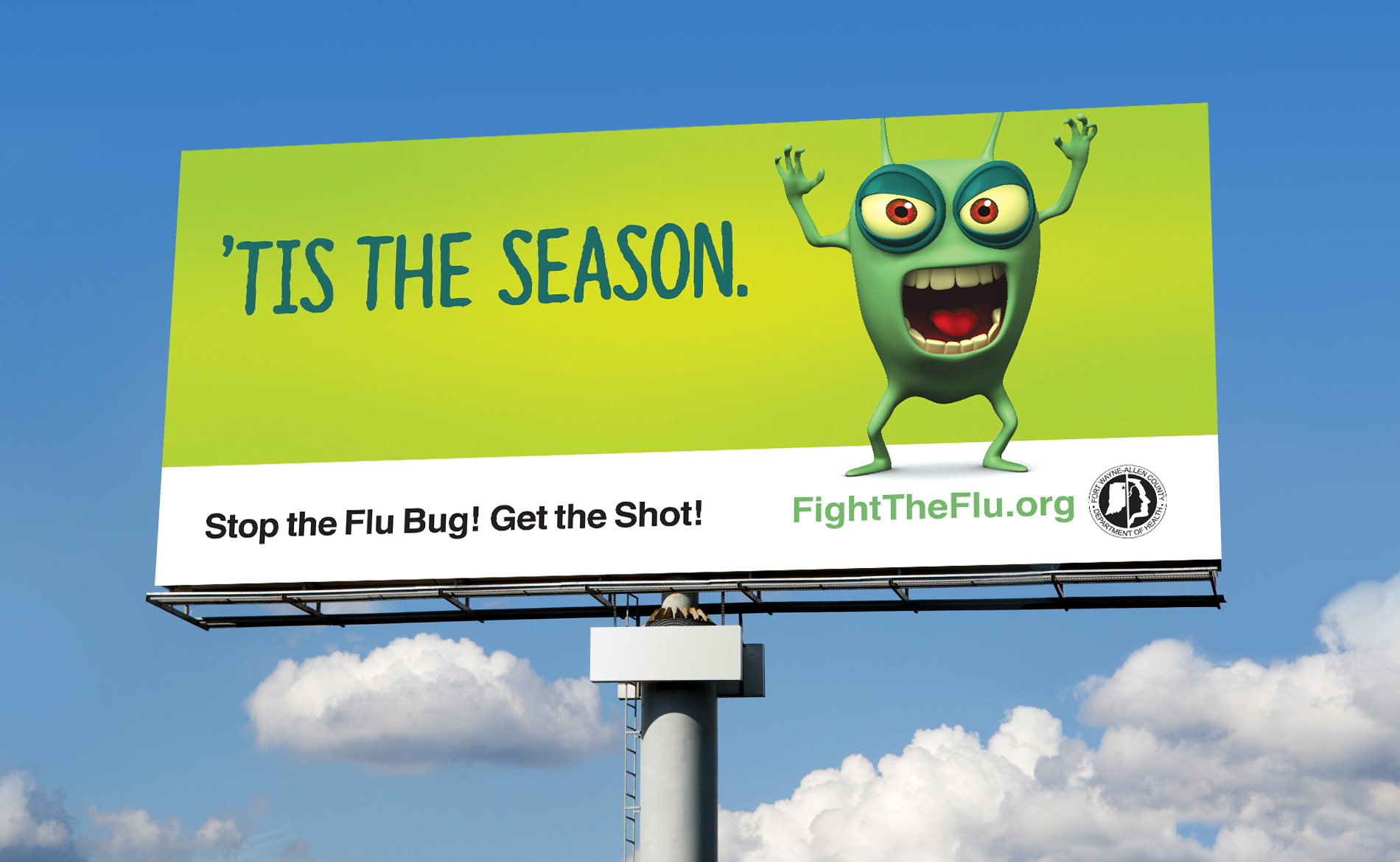Allen County Health Flu Shot Outdoor