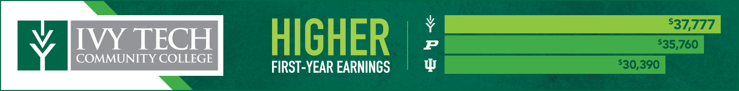 Ivy Tech Community College: web banner