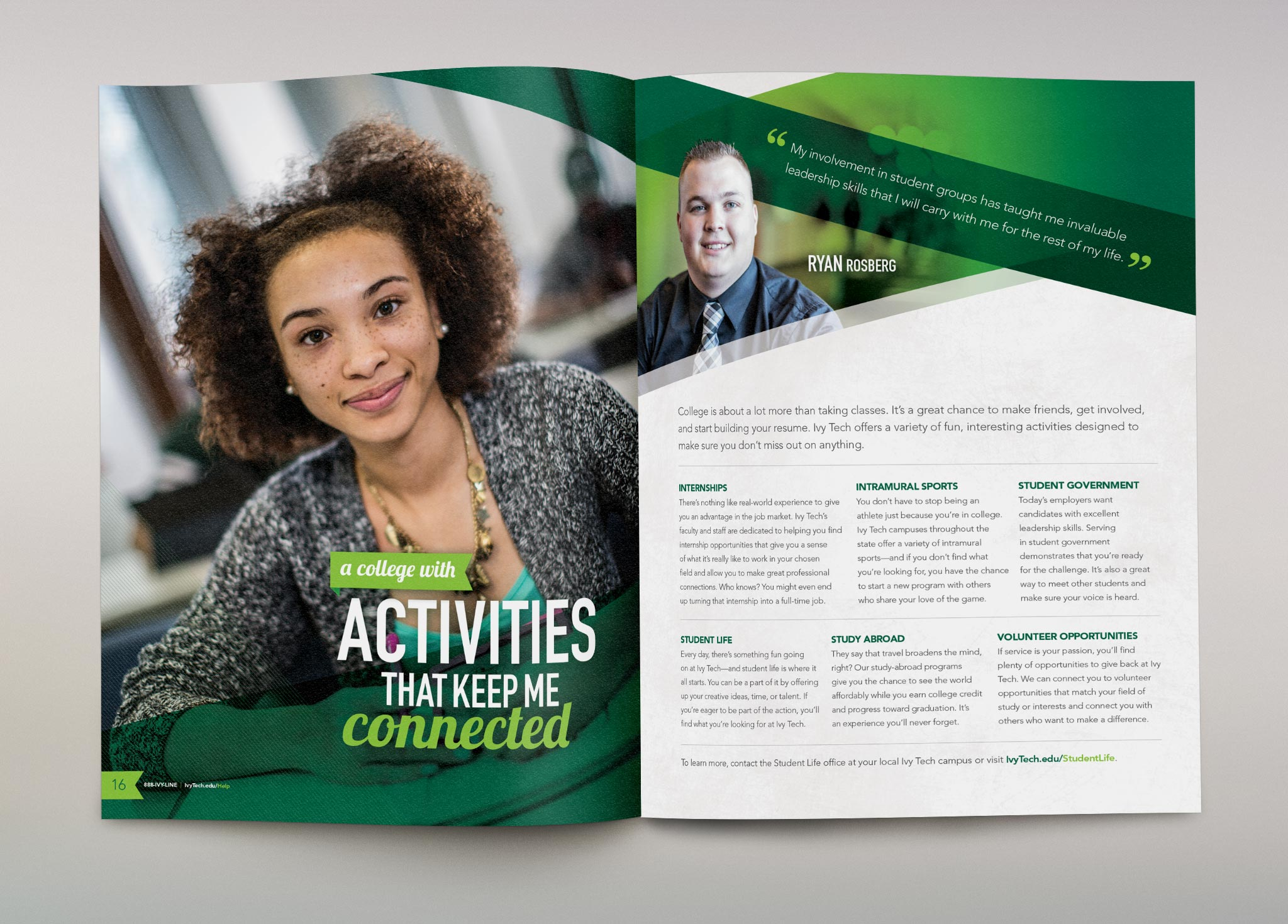 Ivy Tech Community College: Recruitment Brochure