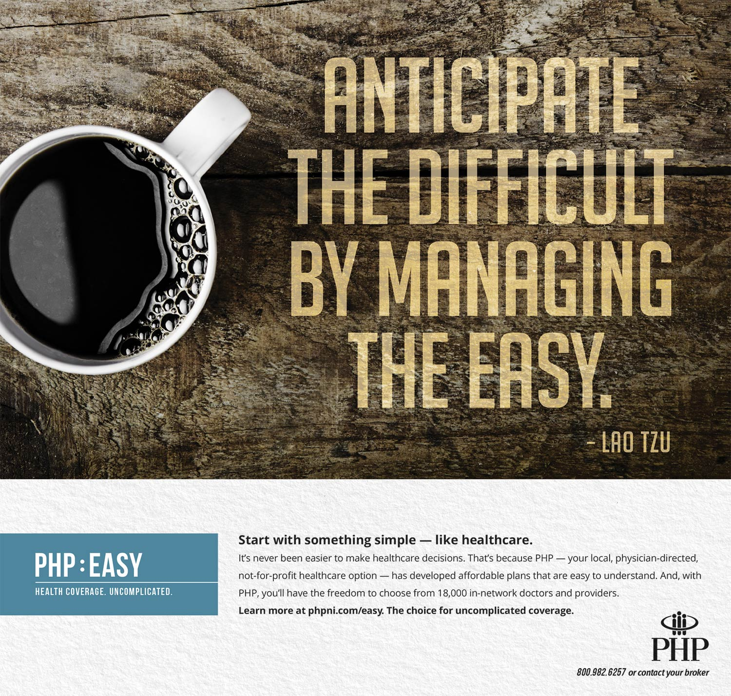 Physicians Health Plan: Print Ad