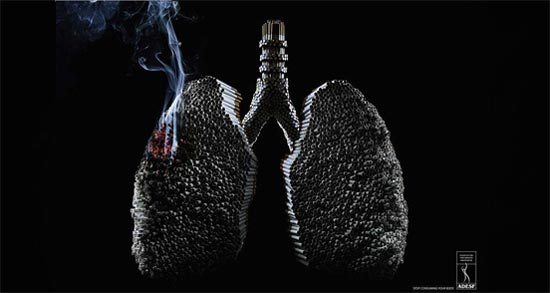 "ADESF - Advertising Agency: NeogamaBBH, Brazil: ""Lungs"""