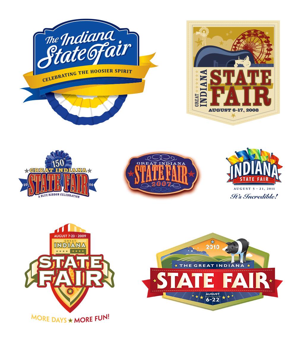 Indiana State Fair: Logos