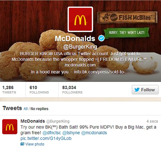 Technology like Clef could have prevented the Burger King Twitter hack from 2011.