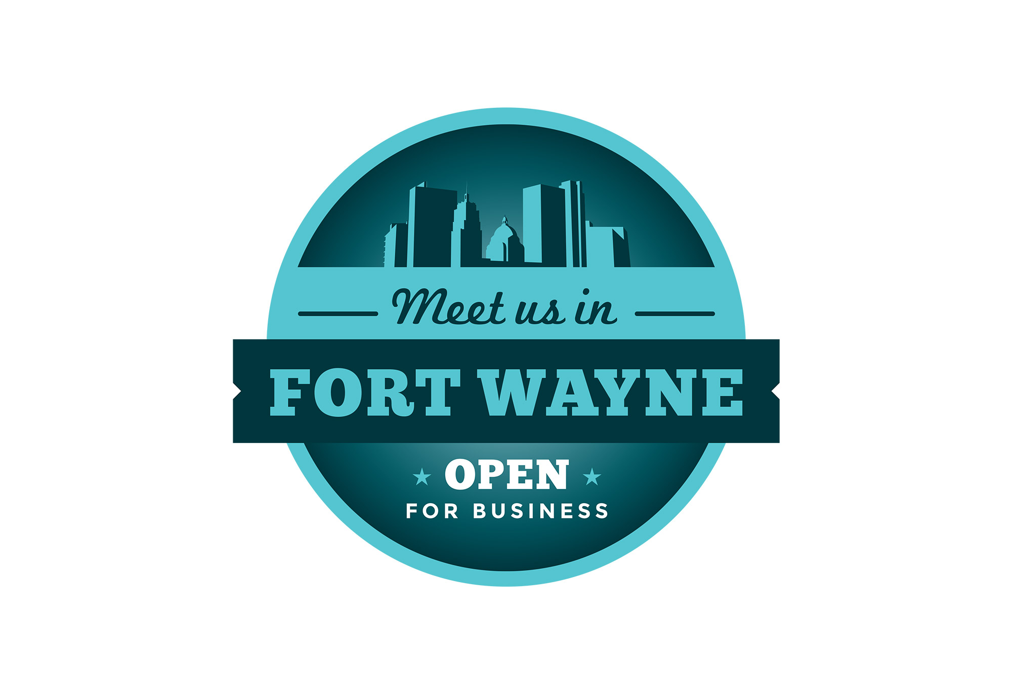 Meet Us In Fort Wayne logo