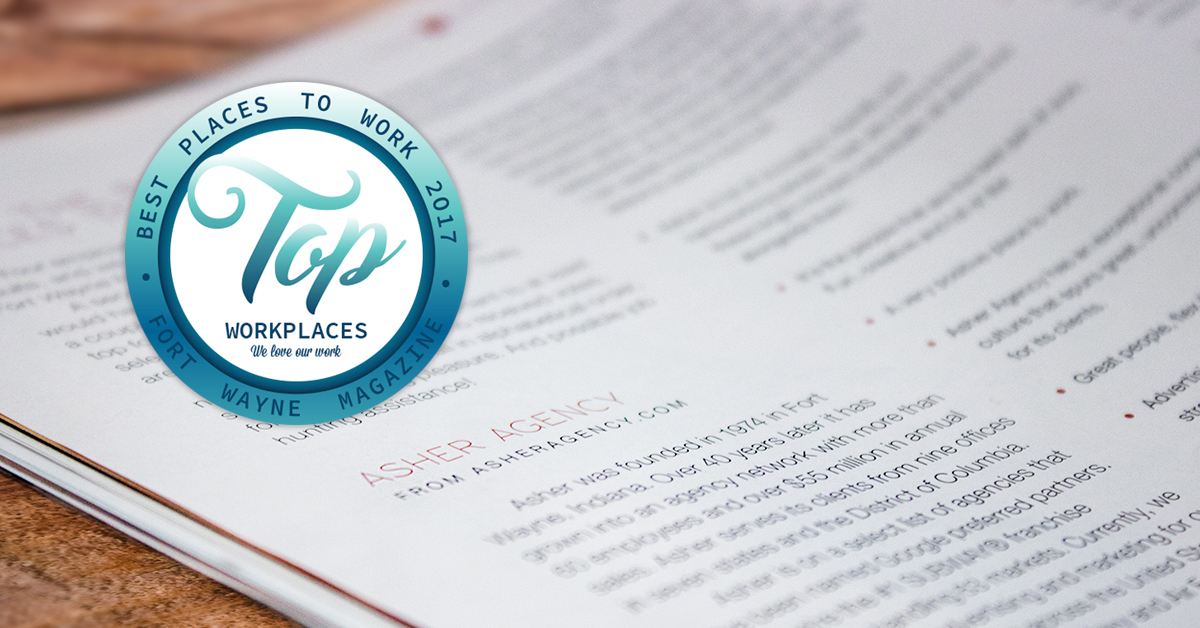 Top Places to work logo Fort Wayne Indiana