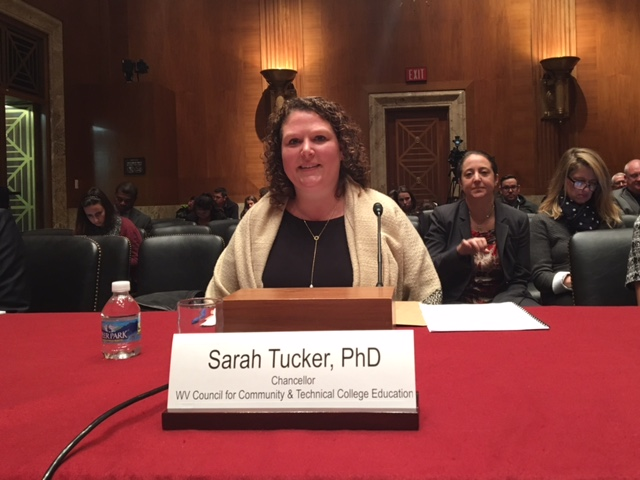 Sarah Tucker Testifying