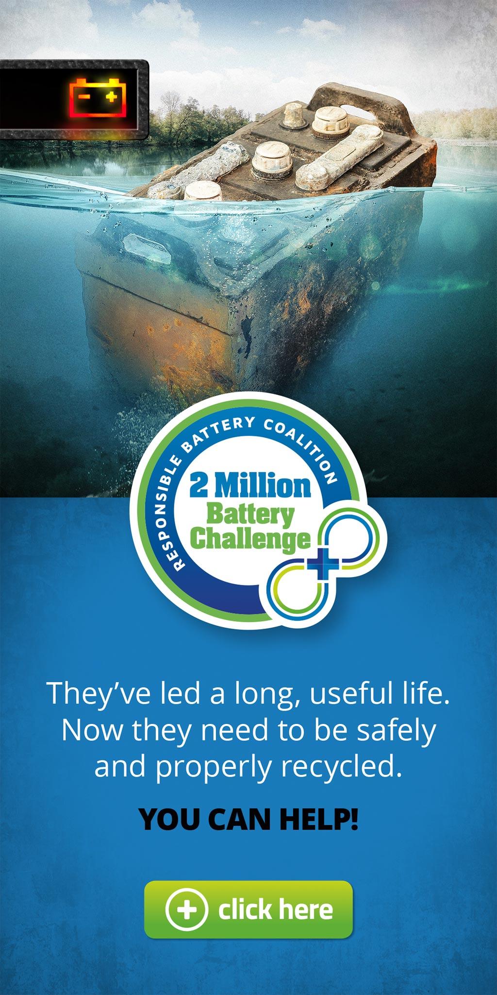 Responsible Battery Coalition, 2 Million Battery Challenge Digital Ad