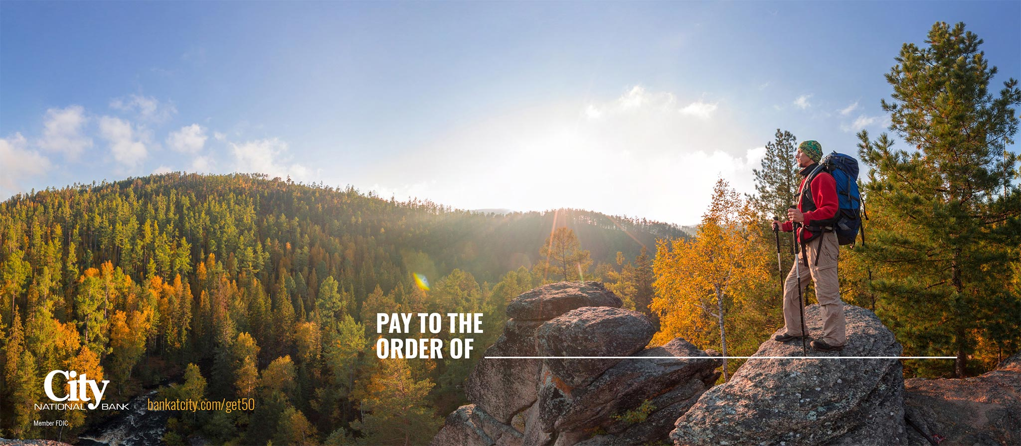 City National Bank, Pay to the Order Of Direct Mail