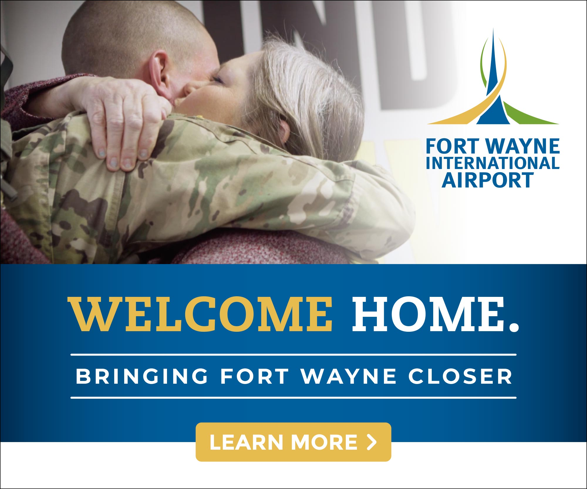 Fort Wayne International Airport, Close to Home Digital Ads