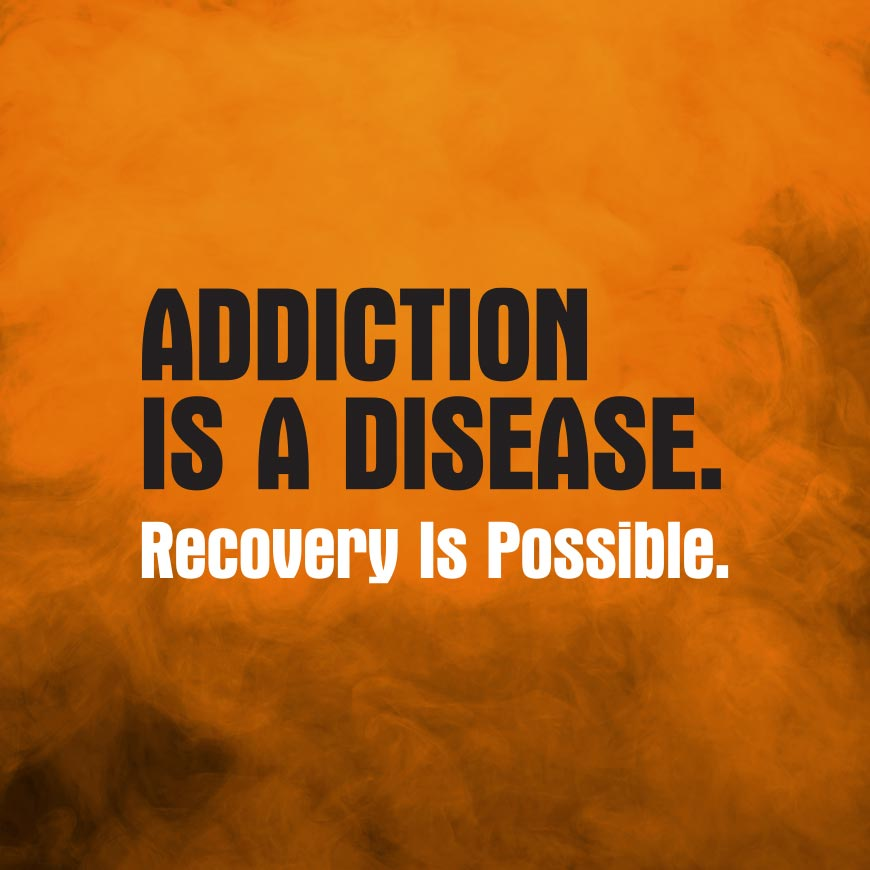 Montana DPHHS, Addiction is a disease. Recovery Is Possible.