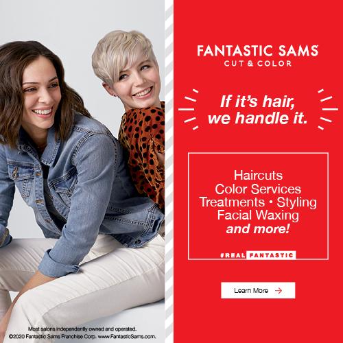 Fantastic Sams Competitive Conquesting example creative